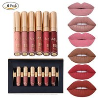 Original Lipstick Beauty 6pcs set Makeup Matte Lipstick Lip ...