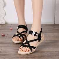 Women Sandals Rome Style Summer Sandals Flip Flops Plus Size...