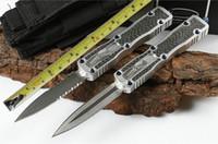 Mic MT St. Ant Fibra di carbonio (due modelli) AU matic coltelli da caccia da campeggio coltelli copia ZT Bench