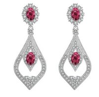 Atacado chaming r diamante de cristal de baixo preço de alta qualidade 2 pcs / lotes de brincos de mulheres 20.39rt