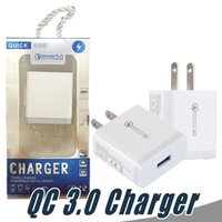 QC3.0 Quick Carica caricabatterie USB UE Caricabatterie per cellulare Adattatore Adattatore Caricabatterie da viaggio per Samsung Xiaomi