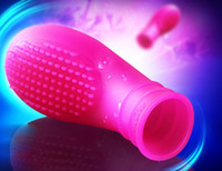 Doux Silicone Finger Sleeve Massager G Spot Clitoris Stimulateur Vagin Masseurs Anaux Adultes Produits Jouets Sexuels pour Hommes Femmes Gay