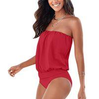 Сексуальные женщины без бретелек купальник купальники монокини пуш ап бикини пляжная одежда бикини купальный костюм женщины плавание одежда