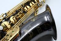 يوليوس Keilwerth SX90R BB Tune Tenor Brass Saxophone B شقة الموسيقية الأسود النيكل الذهب رائعة نحت ساكس مع الملحقات