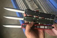 """Venda imperdível! MT Makora II para fora da frente Faca de dupla ação Automática (4,45 """"Plain Satin) 106-4 facas táticas com caixa de varejo A07 C07"""