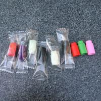 Embout buccal en silicone Drip Tip 510 Emballage individuel Embouts en caoutchouc pour testeurs de gouttes jetables colorés pour e cigs nautilus