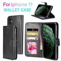 Caso carteira para Casos de Cartão de iPhone 11 PRO MAX PU couro crédito para iPhone 7 8 XS XR XS MAX S7 BORDA LG Stylo 3 LG V5 J7 2016 G5308 Nota 4