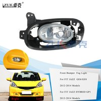 ZUK 브랜드 뉴 왼쪽 오른쪽 안개 빛 안개 램프 전면 Bumber 빛 HONDA FIT의 JAZZ 2012 2013 2014 FIT 재즈 하이브리드 GP1 2013 2014