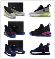 2019 New Colorway Proto 720 Neon Green-to-Blue gradient outsole Hombres Zapatos deportivos Jumpman 23 Purple Royal Mens diseñador entrenador