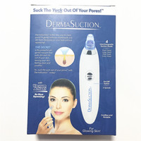 Derma Suction Remover Facial Poros Cleaner Electric Poros dispositivo de limpeza A ação do vácuo remove cravos e sujeira pele Peeling Machine wit