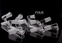 """QBsomk Drop down adaptador reclaimer 3.5 """"Macho para Fêmea 10mm 14mm 18mm Vidro Adaptador Dropdown plataformas de óleo de vidro adaptadores atacado"""