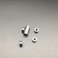 500個/ロット送料無料MR83ZS MR83 ZZ MR83Z 3X8X3MMメタルカバーミニチュアミニディープグルーブボールベアリング3 * 8 * 3mm