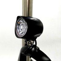 36V 48V ebike LED-Licht Horn wasserdicht für Elektro-Fahrrad-Roller-12W Scheinwerfer-vordere Licht-wasserdicht