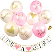 Girl Baby Shower Decorations for Girl Set. Quick & Easy to S...