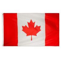 Kanada-Flagge Fahne Freies Verschiffen 90 * 150cm Nationalflagge Kanada Dekoration Banner SN718 Hängen