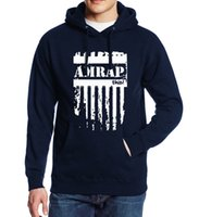 2019 Spring Auutmn Men Hoodie Amrap Letter Print Fleece Warm...