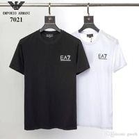110149110a0e New Arrival. Designer Tshirts Summer Mens fashion brand T-shirts 19SS  Classic white black Letter printing T-shirt hip hop ...