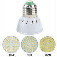 GU10 LED E27 Lampe E14 Spotlight Ampoule 48 60 Soirées Lambara Gu10 Bombillas LED MR16 GU5.3 Lampada Spot Light B22.
