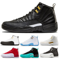 Winterize Jumpman 12 Gym Red 12s College Navy hombres zapatos de baloncesto Michigan WINGS bulls Flu Game el maestro negro blanco taxi Deportes