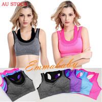 Summer Fashion Sexy Frauen Weste Exotische Tanks Sport-BH-dünne High Impact Non Wired Weitere Cup Active Gym Unterwäsche Nachtwäsche