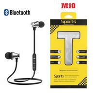 M10 اللاسلكية بلوتوث 4.1 سماعات ستيريو سماعة الرياضة في سماعات الأذن الميكروفون لفون هواوي XIAOMI العلامة التجارية الهاتف الذكي