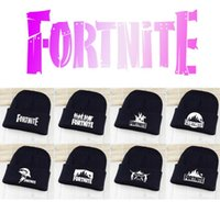 12styles Fortnite Knitted Hat Game Fortnite Beanies Hip Hop ...