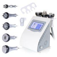 Radio Fréquence bipolaire Cavitation 5in1 élimination de la cellulite Machine minceur perte de poids à vide Beauté Équipement