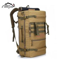 Nylon Backpack Men Bags Travel Sports Molle Backpacks Tactic...