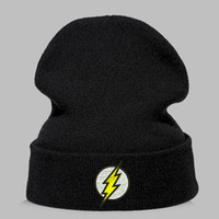 Winter Hat Beanies Skullies Knitted Hat Flash Hero Barry All...