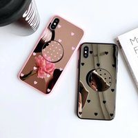Mirror Phone Case with Ring Holder for iPhone X Xs Max Xr 6 ...