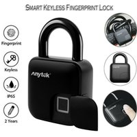 Anytek USB Anti- theft Smart Fingerprint Keyless Lock Waterpr...