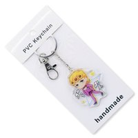 2019 JoJo' s Bizarre Adventure Keychain Double Sided Acr...