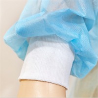 Non- woven Protection Gown Disposable Protective Isolation Cl...
