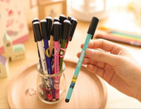 Best selling gel pen free shipping Lovely print animation di...
