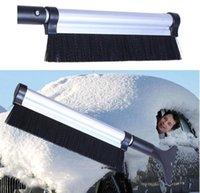 Wholesale Щетка для удаления щетки снега зимняя машина для очистки автомобиля 65см творческий дизайн растяжимый автомобиль автомобиль снег льда скребок DH0364