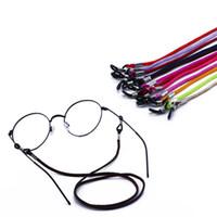 Nueva Gafas Cadena Sujetador de cable Gafas de sol ajustables Cuerda Cadenas Gafas Cordones Gafas Accesorios de moda Envío Gratis