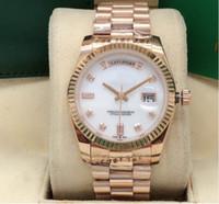 Мужские автоматические механические часы, log 36mm double calendar stone face, мужчины и женщины могут носить механизм 2813, тонкую сталь 316, спортивные часы.