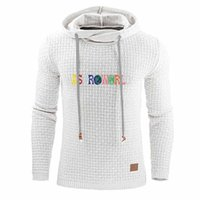 Menshoodies-Mode Letter-Muster Pullover Hoodies beiläufige Natural Color Langarm Hoodies Mens Hoodie Astroworld