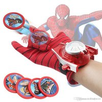 ht hxldoor Spiderman Glove Kids Toys Spider Man Cosplay Costume