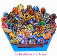 Bayblade Burst Zabawki z wyrzutnią Starter i Arena Bayblade Metal Fusion Bóg Spinning Top Ostrza Zabawki Drop Shipping