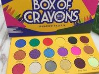 2018 scatola di pastelli ombretto iShadow Palette 18 luccichio di colore opaco della gamma di colori di occhio di trucco DHL
