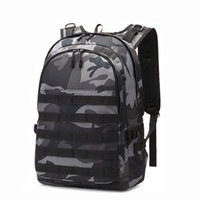 Camo Рюкзак Рюкзак Military Tactical Laptop Backpack пакет водонепроницаемый мешок рюкзака спорта Открытый механизм с USB-портом Молле системы для мужчин