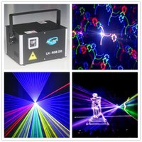 3000mw Outdoor RGB Fireworks Laser Lighting Lighting DJ Disco a luci DJ con display scheda SD