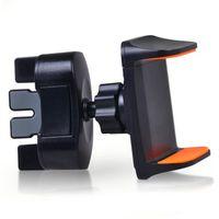 Вентиляционное отверстие стенд мобильный сотовый телефон кронштейн CD слот автомобильный держатель телефона вращение на 360 градусов поворотные автомобильные крепления поддержка samsung