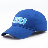 New Brand Pixar Movie Monster University Sulley Mike MU Lettere Baseball Cappello blu Berretti da baseball Un pezzo Vestidos
