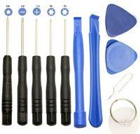 New Professional 11 en 1 Téléphones cellulaires ouverture Pry réparation Kits d'outils Outils Smartphone Tournevis Set pour iPhone Samsung HTC Moto Sony