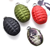 Large capacity key pack PU pure color Cute little creative c...