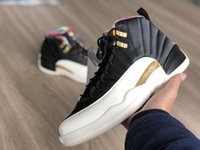 2019 New Jumpman 12 XII CNY LOW Men Basketball Shoes 12s Sne...