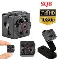 SQ8 Mini Kamera Micro DV Camcorder Action Nachtsicht Digital Sport DV Wireless Mini Sprach Video TV Out Kamera HD 1080P 720P Auch SQ11 SQ23