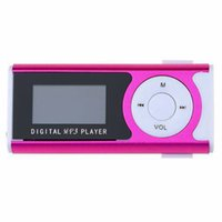 Mini 1,3 LCD-Display MP3-Player Clip-Typ Tragbarer MP3-Player mit Lautsprecherfunktion Unterstützung TF-Karte Marke # 1025